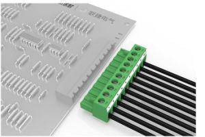 Type de plug-in de la borne du connecteur de bloc avec pas de 5,08 mm