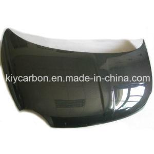 Capô de fibra de carbono para a FIAT F500 papel brilhante