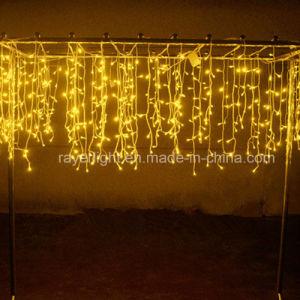 LED-Vorhang-Eiszapfen-Licht-Weihnachtsdekoration-Feiertags-Lichter
