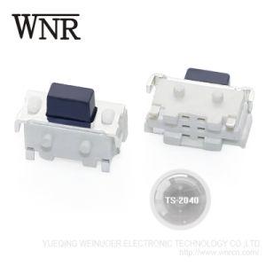 Micro interruttore di tocco dell'interruttore Ts-2040 di tatto con il tasto nero