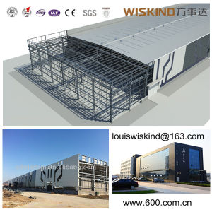 La estructura de acero de la construcción de casas móviles