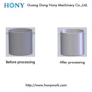 紙やすりで磨く金属のコップのための回転式粉砕の磨くフライス盤