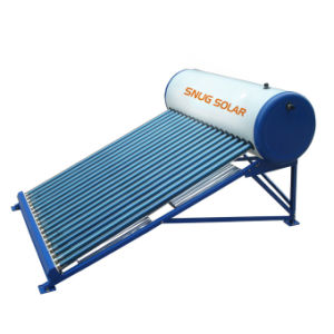 Kompakten SolarStahlwarmwasserbereiter färben