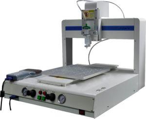 Dispensador líquido de la robusteza de la soldadura de Jaten del pegamento auto de la goma para las piezas eléctricas (D-3410 automáticos)