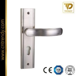 Деревянная дверь аппаратного обеспечения конфиденциальности двери ручки блокировки рычага селектора на заднюю панель
