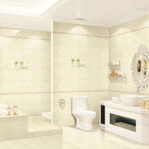 Inkjet verglaasde de Binnenlandse Tegel van de Muur voor Decoratie 300X600mm van het Toilet (37A15)
