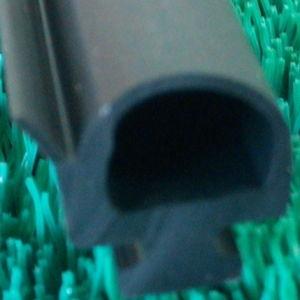 EPDMのドアの端保護のためのガラスゴム製シールのストリップ