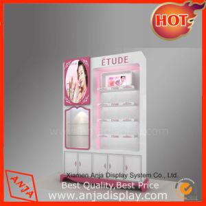 La conception de meubles en bois classique française rouge à lèvres cosmétiques Présentoir pour Shop