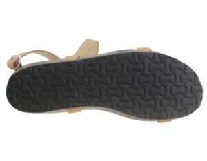 Mesdames de l'été Flats chaussures sandales Croix mode Gladiator