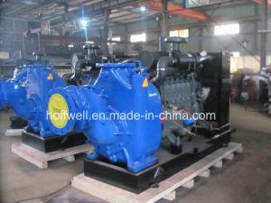 Pompa ad acqua motorizzata diesel delle acque luride T-10