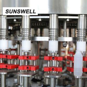 Het wassen van het Vullen Verzegelende Machine voor PE van de Aluminiumfolie Flessen