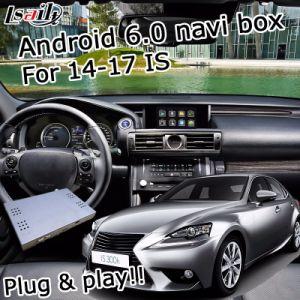Android Market 6.0 Sistema de navegação GPS para a Lexus IS300t350 2014-2017 etc Interface de Vídeo