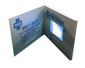 Scheda del biglietto di S. Valentino dello schermo dell'affissione a cristalli liquidi video