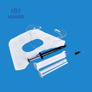 35% de peróxido de hidrogênio Profissional Canhão duplo de gel de branqueamento dos dentes