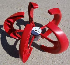 Gerador de vento chinês 12V/24V de Naier 100W Verital em duas cores