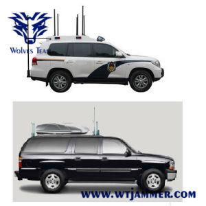 De draagbare Stoorzender van de Telefoon van de Walkie-talkie van de Bom VHF van Rcied van het Konvooi van de Pelikaan Mobiele (tot 1km)