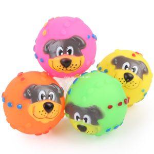 Esfera de tênis de borracha barata do cão da fonte do cão de brinquedo do animal de estimação