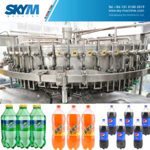 1台の液体の飲料水満ちる包装機械に付き回転式3台