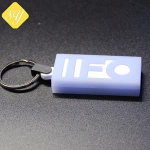 precio de fábrica PVC personalizadas PU Cuero Metal Llavero de plástico de silicona