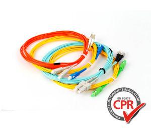 O MTP/MPO/LC/SC/ST/FC único modo simplex/duplex óptica de Fibra Óptica/cabo de patch