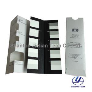 Escala de grises Aatcc original en color para cambiar de color gris de la tinción de la tarjeta A03