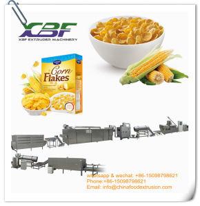 Copos de maíz el cereal de desayuno Maker máquina extrusora