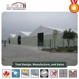 Tenda provvisoria del magazzino con la parete di panino d'acciaio per il workshop