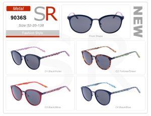 De fabriek verkoopt Zonnebril van de Orde van de Acetaat van de Voorraad van het Frame de In het groot Klaar Kleine
