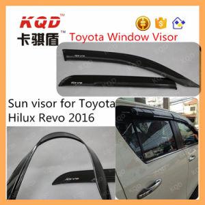 Parasol de Coche personalizado Toyota Hilux Deflector de cristal Deflector Deflector de lluvia de la puerta de coche accesorios para el Hilux Revo Body Kits