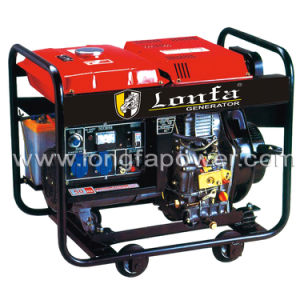 2kVA Small Open Type Diesel Generator Set für Home Use