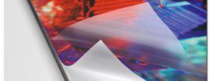 Décoration de surface de l'image 3D auto-adhésif du film de plastification à froid
