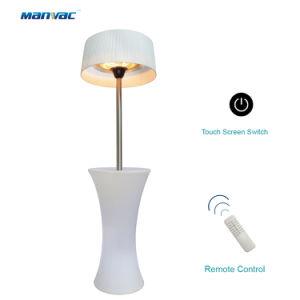 Piscina de Turismo Vela LED branco e colorido pátio Aquecedor Eléctrico