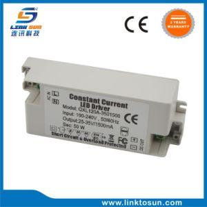 Nessun driver costante della corrente 50W 25-35V 1.5A LED della luce intermittente