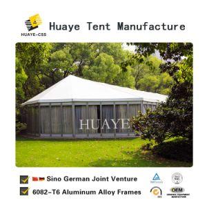 Wasserdichtes schönes Hochzeits-Festzelt-Zelt mit Glaswänden für Verkauf
