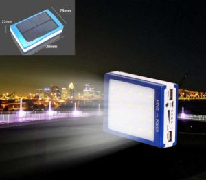 LED lámpara de Campamento Universal Cargador solar portátil para Smart Phone