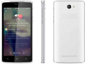 5.5  High-End qual-Kern 5.0 de Zilveren Kleur van de Telefoon van de Camera van het PARLEMENTSLID 3G