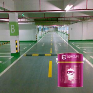 Pintura de suelo epoxi para estacionamiento de fábrica y almacén
