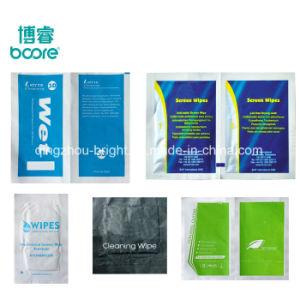 Печать упаковки бумаги из алюминиевой фольги лимона чистящие салфетки, влажные салфетки для взрослых, чистящие влажные салфетки