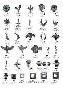 De Ornamenten van het smeedijzer en Spear van het Metaal