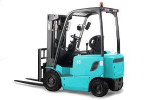 安い価格充電器が付いている1.5トンの積載量の電気フォークリフト
