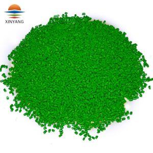 膨らんだフィルムのための容易な処理の緑のMasterbatchを均等に着色すること
