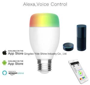 Alexa/Google Assistent/Smartphone Romote esteuerter warmer White+Cold weißer RGBW GU10 LED Scheinwerfer WiFi intelligente LED Glühlampe