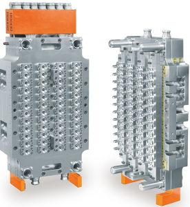 48のキャビティ熱いランナーのテール(YN-48WC)のないプラスチック注入の針弁ペットプレフォーム型