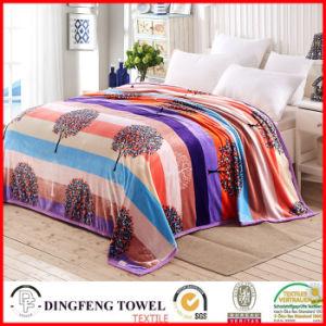 2017新しい季節の印刷されたDf8856の珊瑚の羊毛毛布