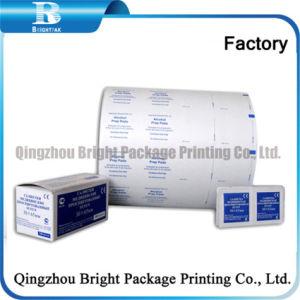 Imprimir papel laminado de aluminio de hisopos de alcohol fabricado en China