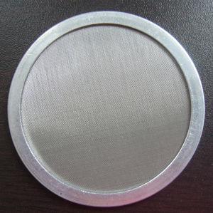 Dutch tecem pano de malha de arame Preto Disc/plástico da Tela do Filtro do extrusor