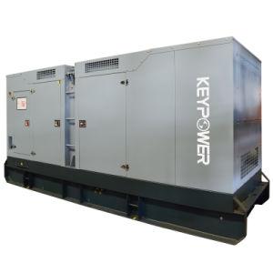 Hauptzylinder-Dieselgenerator der energien-125kVA sechs mit leisem Kabinendach