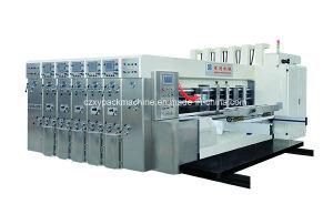 Impresora flexo de corte automático de impresión de embalaje embalaje de cartón corrugado que hace la máquina