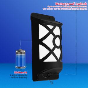 IP65, die wasserdichte LED vermeiden, pressen angeschaltene Garten-Wand-Solarlichter aus