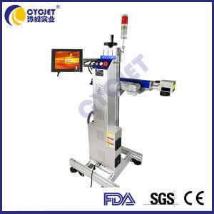 machine de marquage au laser à fibre Cycjet 50W avec système d'alarme